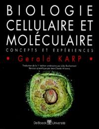 BIOLOGIE CELLULAIRE ET MOLECULAIRE - Concepts et expériences.pdf