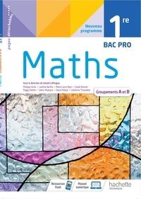 Gérald Lafforgue - Maths 1re Bac Pro - Groupements A et B.