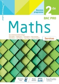 Gérald Lafforgue - Maths 2de Bac Pro services.