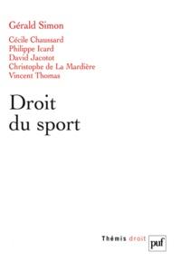 Gérald Simon - Droit du sport.