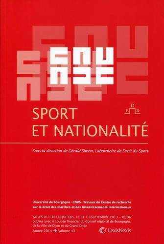 Gérald Simon - Sport et nationalité.