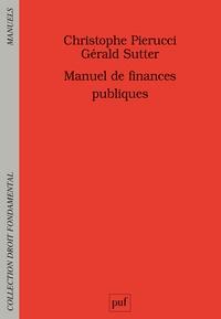 Gérald Sutter et Christophe Pierucci - Manuel de finances publiques.