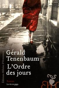 Gérald Tenenbaum - L'Ordre des jours.