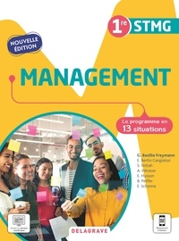 Géraldine Bazille Freymann - Management 1re STMG - Pochette élève.
