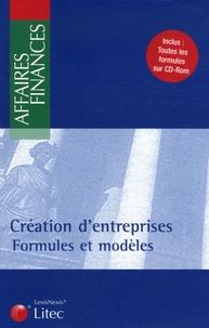 Géraldine Chaudre et Stéphanie Durteste - Création d'entreprises - Formules. 1 Cédérom