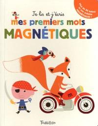 Géraldine Cosneau - mes premiers mots magnétique.