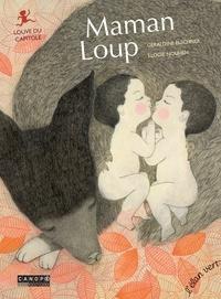 Géraldine Elschner et Elodie Nouhen - Maman Loup - Louve du Capitole.