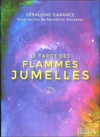Géraldine Garance - Le tarot des flammes jumelles - Coffret avec 1 livre et 78 cartes.