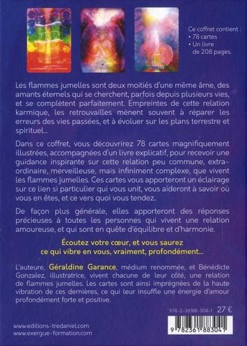 Le tarot des flammes jumelles. Coffret avec 1 livre et 78 cartes