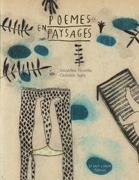 Géraldine Heredia - Poèmes en paysages.