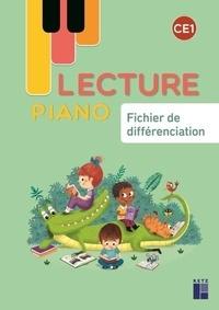 Géraldine Mat - Lecture piano CE1 - Fichier de différenciation.