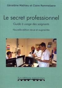 Satt2018.fr Le secret professionnel - Guide à usage des soignants Image