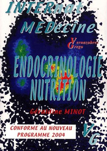 Géraldine Minot - Endocrinologie-Nutrition.