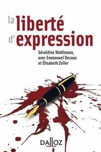 Géraldine Muhlmann - La liberté d'expression.