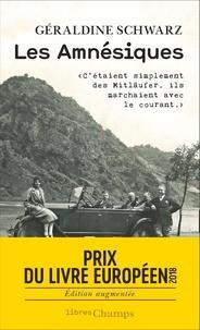 Ebooks gratuits sans téléchargement d'adhésion Les amnésiques par Géraldine Schwarz 9782081484672 RTF en francais