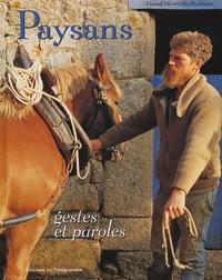 Gérard Alle - Paysans - gestes et paroles.