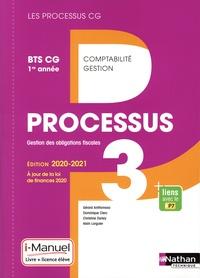 Gérard Antitomaso et Dominique Clerc - Processus 3 Gestion des obligations fiscales BTS CG 1re année Les processus CG - Livre de l'élève + licence en ligne.