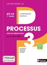 Gérard Antitomaso et Dominique Clerc - Processus 3 Gestion des obligations fiscales BTS CG 1re année - i-Manuel.