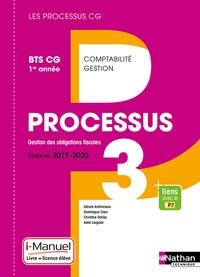 Gérard Antitomaso et Dominique Clerc - Processus 3 Gestion des obligations fiscales BTS CG 1re année - Livre de l'élève + licence en ligne.