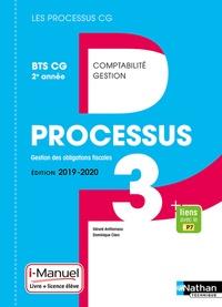 Gérard Antitomaso et Dominique Clerc - Processus 3 Gestion des Obligations fiscales BTS CG 2e année - Livre + licence élèvre.