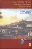 Gérard Béaur et Christophe Duhamelle - Les Sociétés rurales en Allemagne et en France (XVIIIe-XIXe siècles) - Actes du colloque international de Göttingen (23-25 novembre 2000).