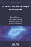 Gérard Belmont et Laurence Rezeau - Introduction à la physique des plasmas.