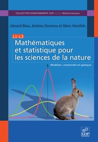 Mathématiques et statistique pour les sciences de la nature- Modéliser, comprendre et appliquer - Gérard Biau pdf epub