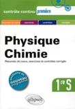 Gérard Bidault et Hervé Tellier - Physique-Chimie 1e S.