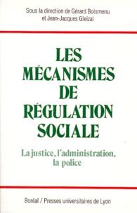 Gérard Boismenu et Jean-Jacques Gleizal - .