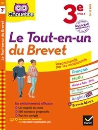 Gérard Bonnefond et Vanessa Lebrun - Chouette Le Tout en un 3e - Spécial Brevet - nouveau programme.