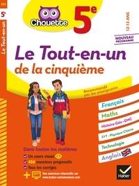 Gérard Bonnefond et Daniel Daviaud - Chouette Le Tout-en-un 5e - cahier de révision et d'entraînement dans toutes les matières.
