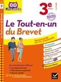 Gérard Bonnefond et Vanessa Lebrun - Chouette Le tout-en-un du brevet 3e - nouveau programme.