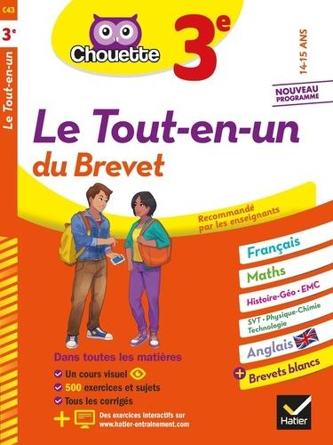 Gérard Bonnefond et Daniel Daviaud - Le tout-en-un du brevet 3e.