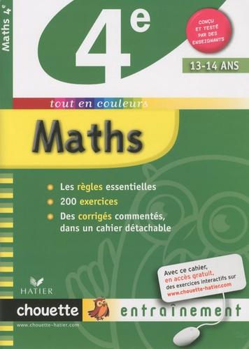 Gérard Bonnefond et Daniel Daviaud - Mathématiques 4e.