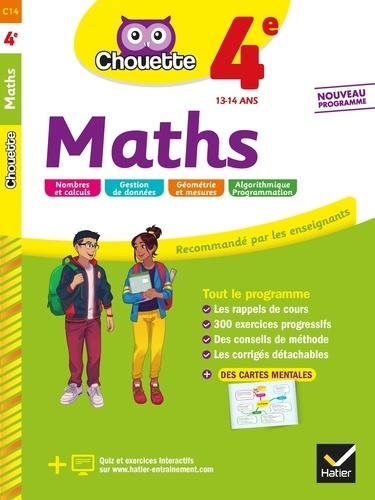 Gérard Bonnefond et Daniel Daviaud - Maths 4e - cahier d'entraînement et de révision.