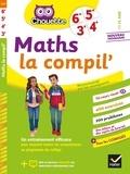 Gérard Bonnefond et Daniel Daviaud - Maths La Compil' 6e, 5e, 4e, 3e - cahier d'entraînement pour toutes les années du collège.