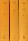 Gérard Bonnin et François Lespinasse - Salons et expositions Rouen (1833-1847) - Répertoire des exposants et liste de leurs oeuvres, 3 volumes.