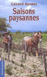 Gérard Boutet - Saisons paysannes.