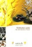 Gérard Briffaux - Fertilisation azotée du blé tendre d'hiver.