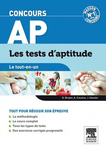 Gérard Broyer et Agnès Cousina - Concours AP - Les tests d'aptitude.