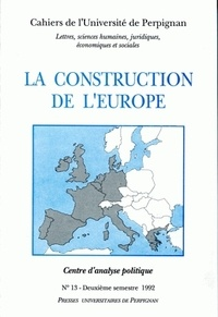 Gérard Camilleri - La construction de l'Europe.