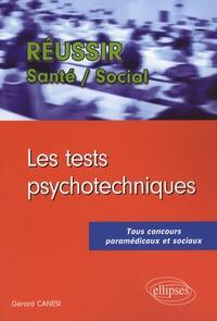 Gérard Canési - Les tests psychotechniques.