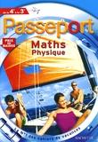 Gérard Caparros et Jean-Pierre Devalance - Passeport Maths physique de la 4e à la 3e.