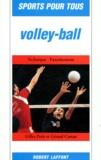 Gérard Castan et Gilles Petit - Volley-ball.