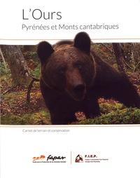 Gérard Caussimont et Roberto Hartasanchez - L'ours, Pyrénées et Monts cantabriques - Carnet de terrain et conservation.