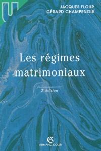 Les régimes matrimoniaux. 2ème édition.pdf
