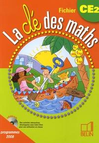 Gérard Champeyrache - La clé des maths CE2, Fichier - Programmes 2008.