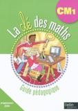 Gérard Champeyrache et Julie Horoks - La clé des maths CM1 - Guide pédagogique. 1 Cédérom