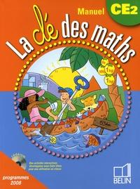 Gérard Champeyrache et Yann Yvinec - La clé des maths manuel CE2 - Programmes 2008.