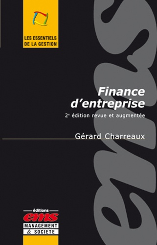 Finance d'entreprise 3e édition